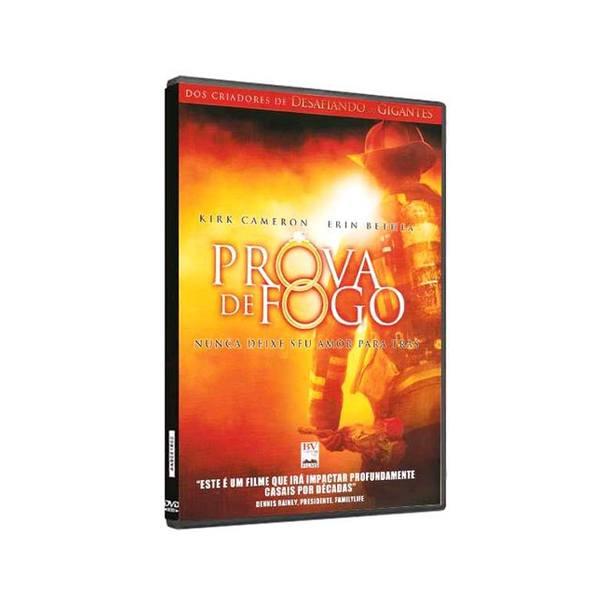 DVD Prova de Fogo