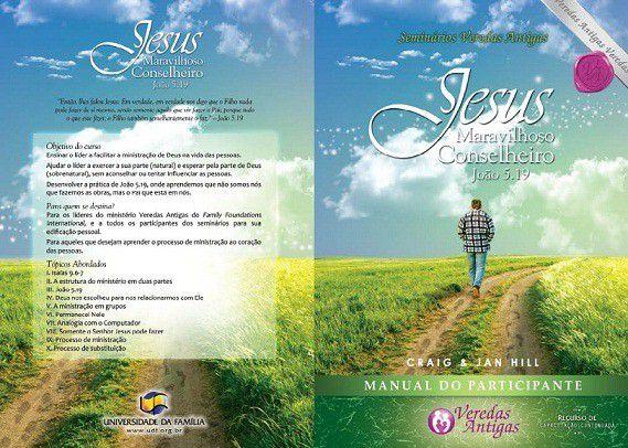 Jesus Maravilhoso Conselheiro - KIT  - Loja da Família