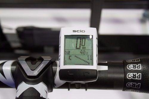 Velocimetro Ciclocomputador Shimano Pro Scio 15 Funções Sem Fio