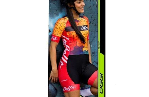 Macaquinho Feminino Oggi Bike La Belle 2018 Ciclismo
