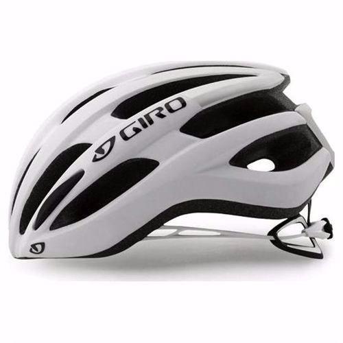 Capacete Bike Giro Foray Branco Fosco/prata Pro