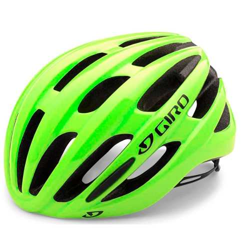 Capacete Bike Giro Foray 2017 Amarelo/verde Pro
