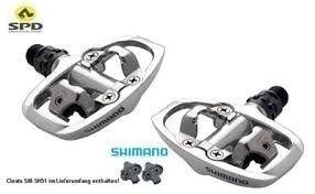 Pedal Shimano Pd-a520 Spd Plataforma Mtb Speed
