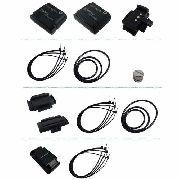 Kit Sensor Veloc E Cadencia P/ Ciclocomputador Echowell Ui20 Ant+