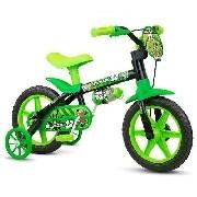 Bicicletinha Bicicleta Infantil Menino Aro 12 Black Nathor
