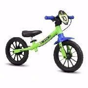 Bicicleta Infantil Aro 12 Sem Pedal Balance Bike Nathor