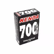 Câmara De Ar 700 X18/23 Kenda Presta Fino 80mm Bike