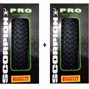2 Pneus 29 X 2.20 Pirelli Scorpion Pro Kevlar Dobrável