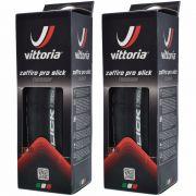 2 Pneus Vittoria Zaffiro Pro Slick 700 X 25c Training Kevlar