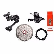 Kit Grupo 11v Shimano Xt M8000 High 32/34/36 Sunrace 11x46