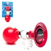 Buzina Corneta Infantil aco cromado/plastico KZ-145 Vermelho