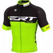 Camisa Ciclismo Ert Elite Racing Preto Verde TAM GG