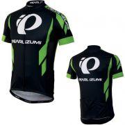 Camiseta Ciclismo Pearl Izumi Elite Ltd Jersey Preto/verde TAM P