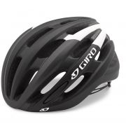 Capacete Bike Giro Foray Preto Fosco/branco Pro M