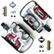 Pedal Sapatilha Wellgo Wpd-998 Clip E Plataforma (2 Funções)