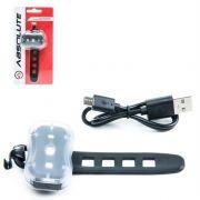 PISCA DIANT/TRAS ABSOLUTE JY-7050 RECARREGÁVEL BIKE LED
