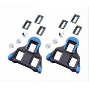 Taco Shimano Sm-sh12 Para Pedal De Speed Spd Sl (azul)