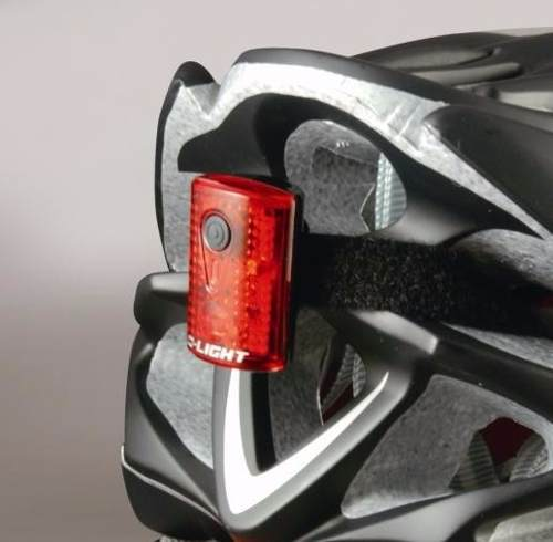 Kit De Luz Dlight Bike Recarregável C/ Suporte Bike Capacete
