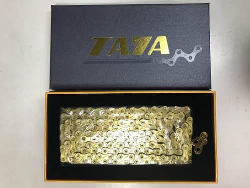 Corrente Taya Tolv 121 Gold 12v 126 Elos 275g Mtb Speed Novo