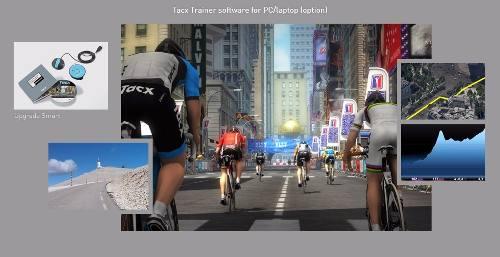 Rolo De Treino Bike Speed Trainer Tacx Bushido Smart T2780