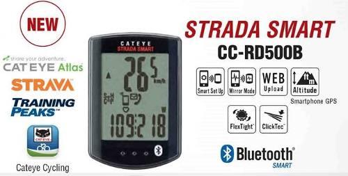 Cateye Strada Smart Rd500b Compativel Strava Gps