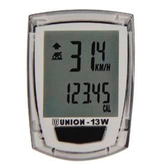 Velocímetro Digital Union 13 Wpt 13 Funções S/ Fio Transp