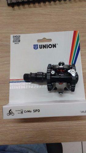 Pedal Clip Mtb Union C/ Taquinho Preto Bike M520