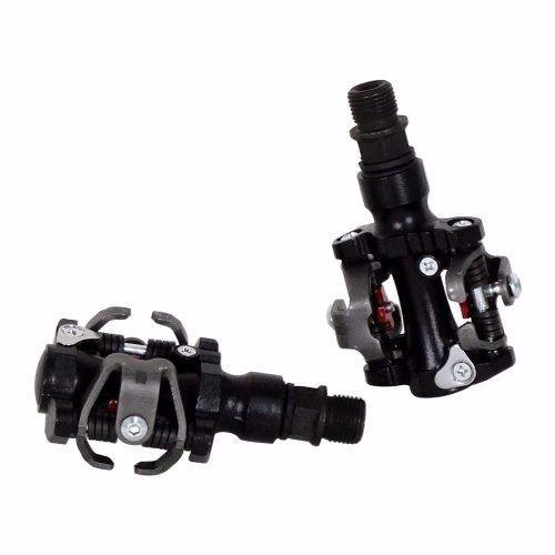 Pedal Wellgo Clip M18 Preto C/ Taquinho Sapatilha M505 M520