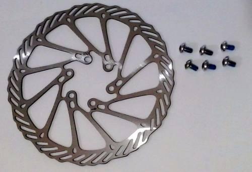Par Disco Rotor De Freio Yamda Absolute Inox Dr03 160 Mm