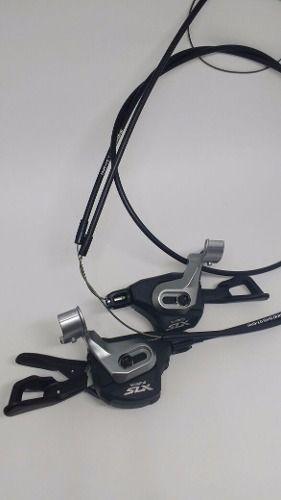Lado Esquerdo Trocador Shimano Slx M7000 2x11 C/ Abraçadeira