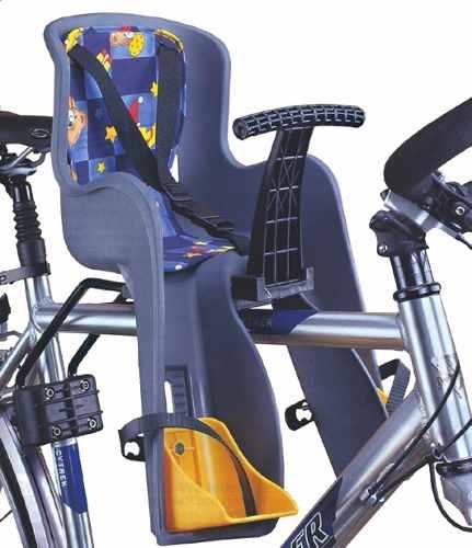 Cadeirinha Jr Absolute Canote (cinza) Dianteira Bike Mtb