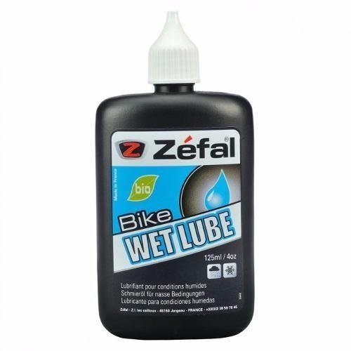 Lubrificante Corrente Bike Zéfal Pro Wett Lube 125ml Bio