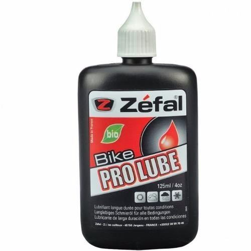 Lubrificante Bike Zéfal Pro Bio Lube 125ml Seco/chuva Bio