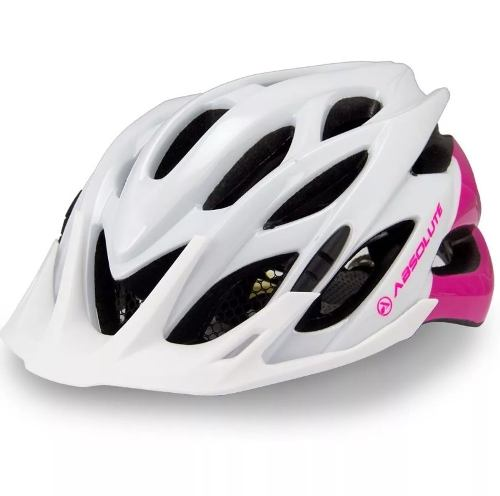 Capacete Ciclismo Bike Absolute Wild Pisca Led Cores