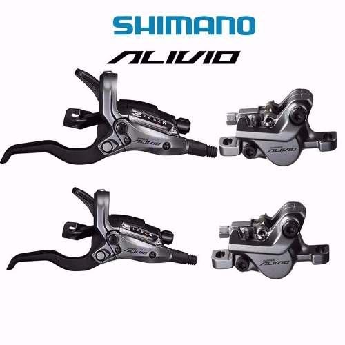 Freios Disco Hidráulico Shimano Alivio Com Rapid Fire M4050