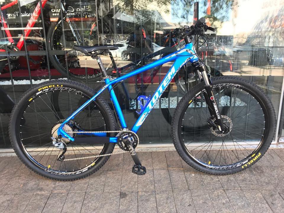 Bicicleta 29 Totem Pro Deore Com 2x 10v Susp Trava