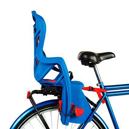 Cadeirinha P/ Bicicleta Belleli Traseira Pto/Vermelha Rápido