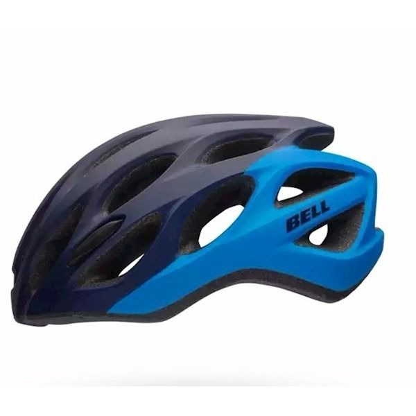 Capacete Bell Draft Ciclismo Mtb Azul Escuro Pro
