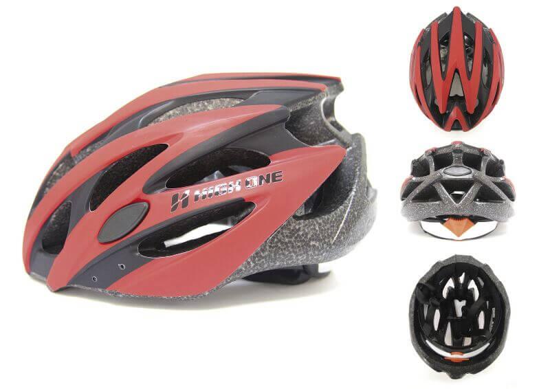Capacete Bike Ciclismo High One Mv29 Vermelho