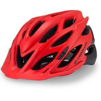 Capacete Ciclismo Bike Absolute Wild PiscaLed Vermelho