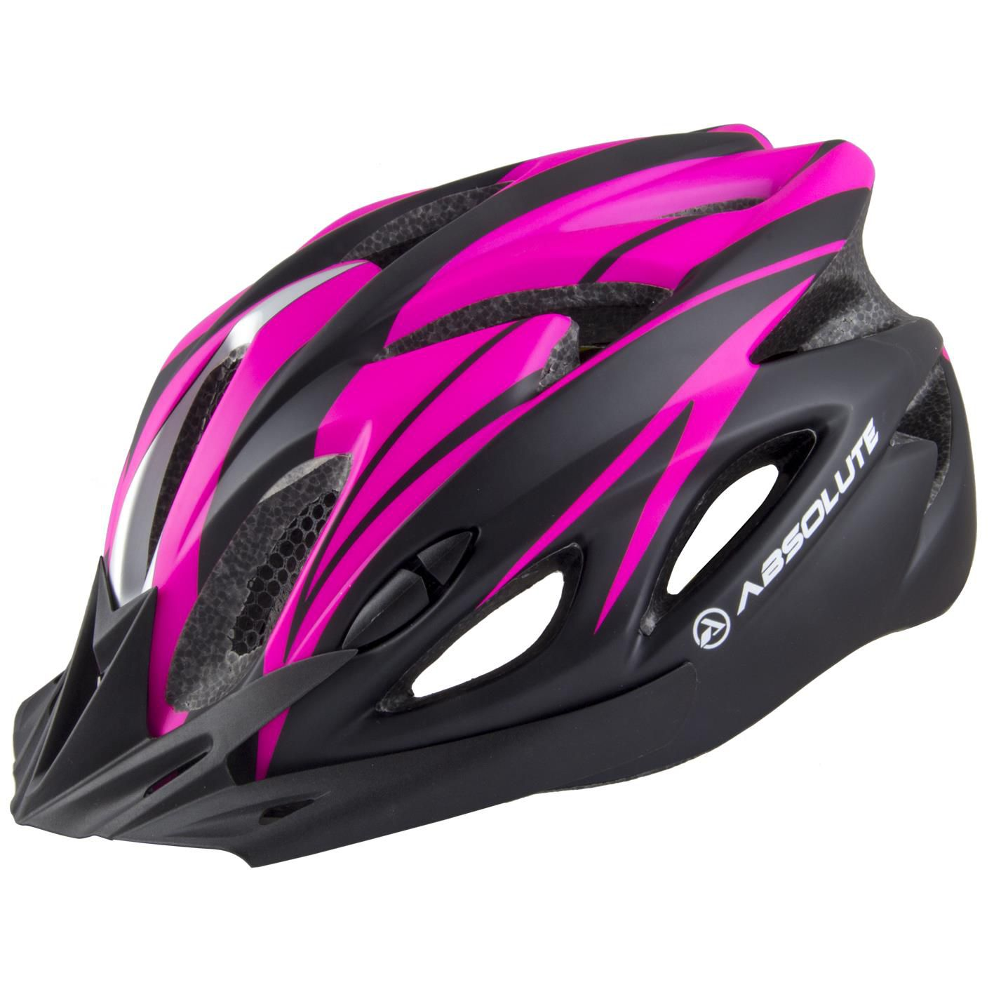 Capacete Ciclismo Bike Absolute Wt012 Led Rosa