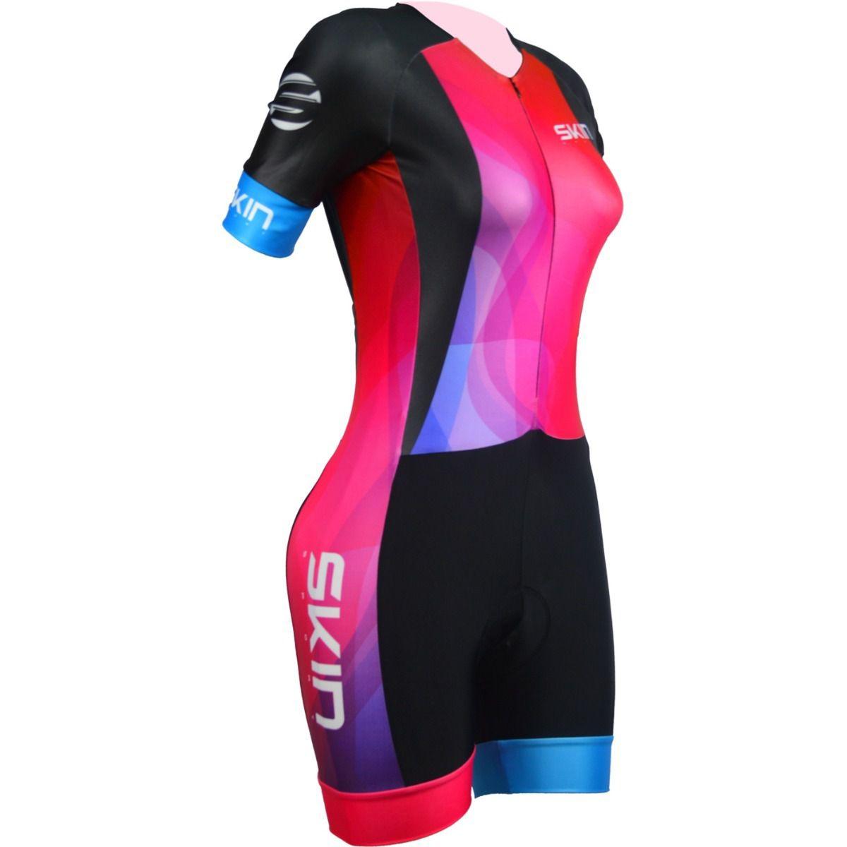 Macaquinho Feminino Skin Bike Oggi Venus Ciclismo TAM P