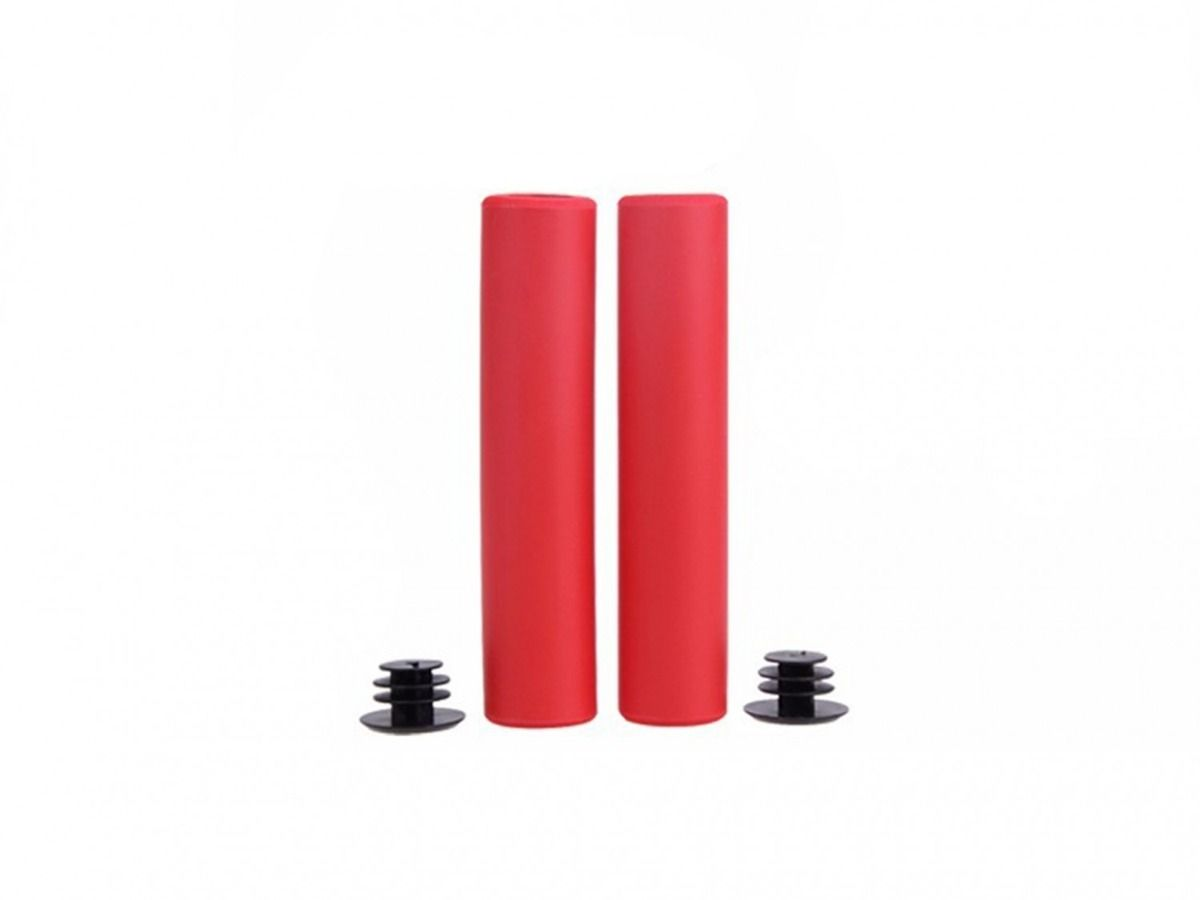 Manopla Mtb Bike Silicone High One Vermelho 135mm