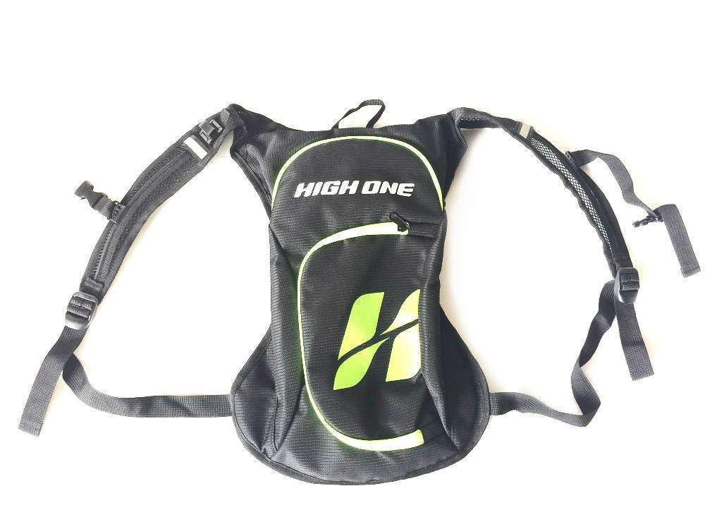 Mochila Hidratação High One 2 Litros Pro Bike Verde