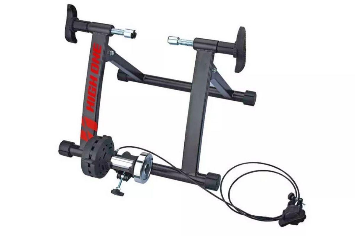 Rolo P/ Treino Bike Simulador Pedalada Treinamento High One Cabo