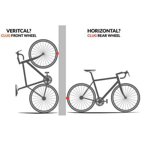 Suporte Parede Bicicleta Speed Hornit Clug