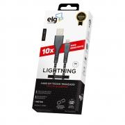 Cabo Lightining Nylon Balístico ELG - L810BL