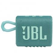 Caixa de Som Bluetooth Portatil JBL GO 3 - Teal JBLGO3TEAL