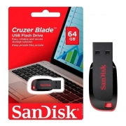 Pendrive Sandisk Cruzer Blade 64GB
