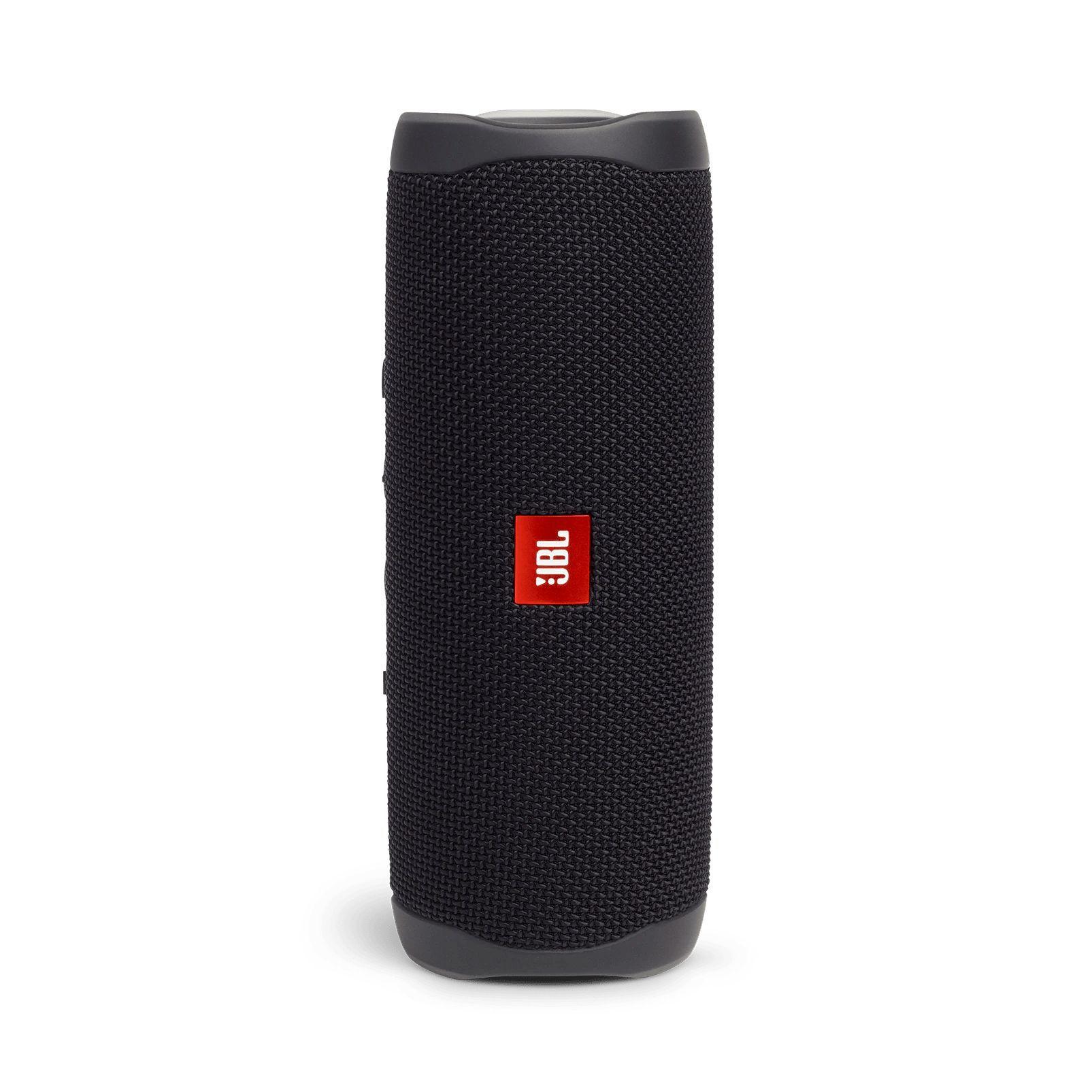 Caixa de Som Bluetooth Portátil JBL Flip 5 - Preto JBLFLIP5BLK